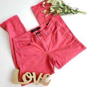.Calvin Klein. Coral Skinny Crop pants